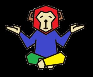 Logo Mahnix Affe farbig transparent