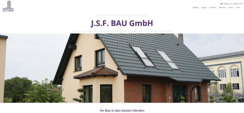 Mahnix Webdesign Referenz - JSF-Bau