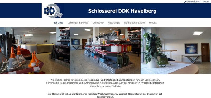 Mahnix Webdesign Referenz - Schlosserei Kindel